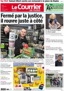 Le Courrier de l'Ouest Angers – 16 mai 2019