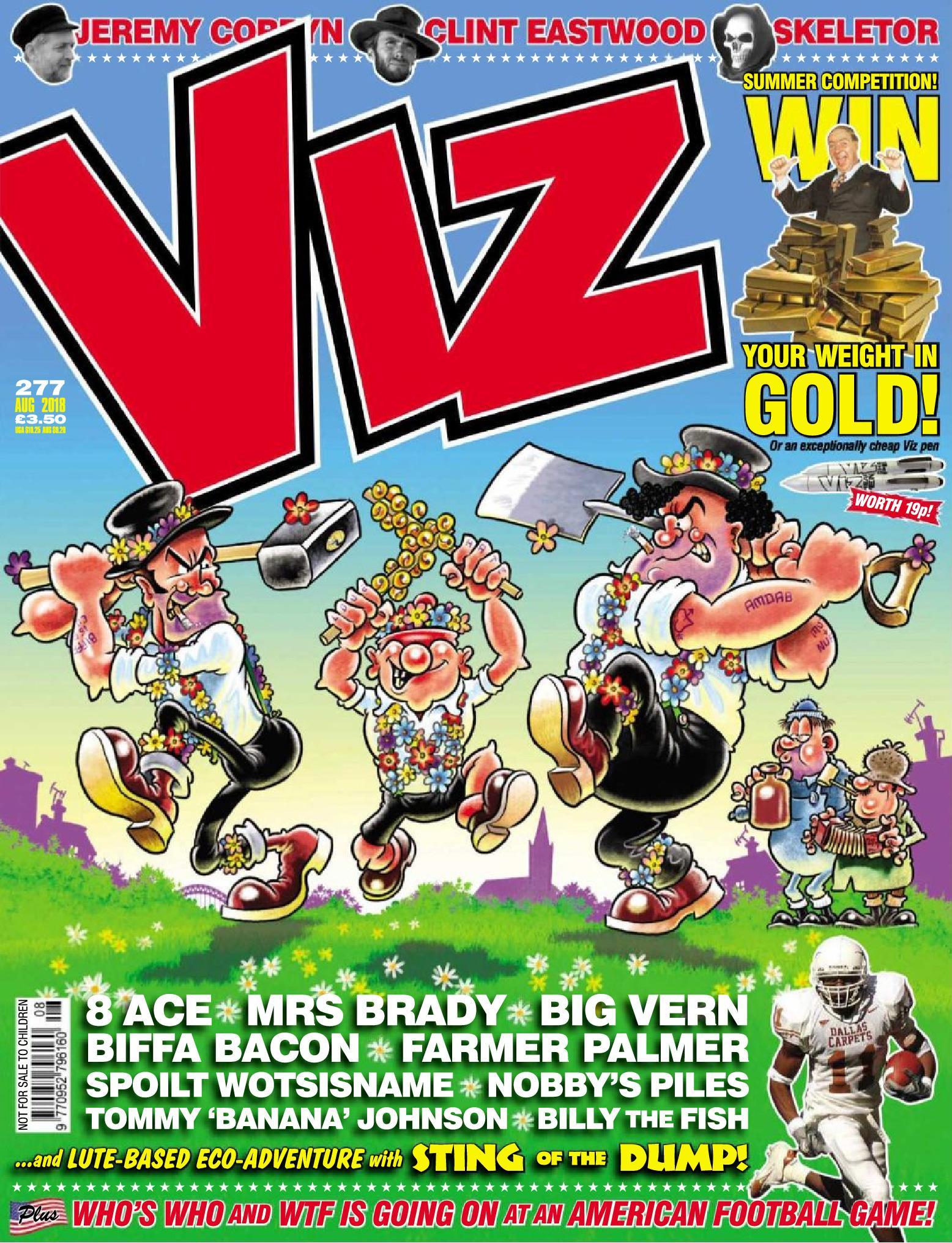 Viz No 277 2018 HYBRiD COMiC eBook
