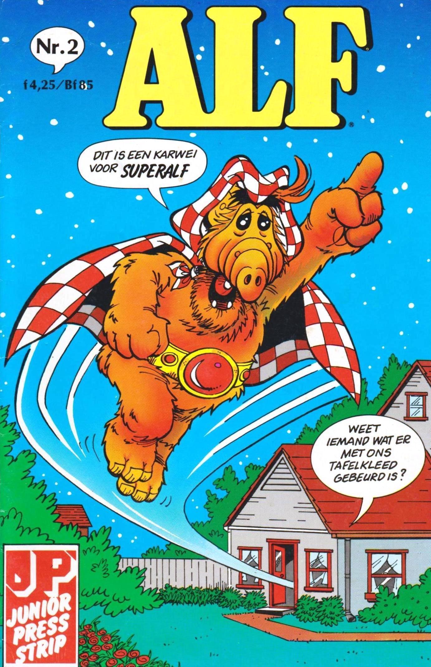 Alf - 08 - Oost, West Thuis Slechts!
