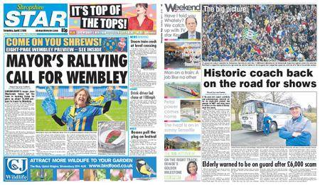 Shropshire Star Shrewsbury Edition – April 07, 2018