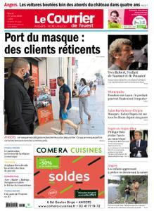 Le Courrier de l'Ouest Angers – 21 juillet 2020