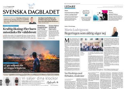 Svenska Dagbladet – 27 augusti 2019
