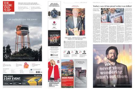 The Globe and Mail – October 13, 2018