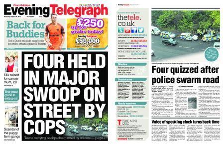 Evening Telegraph First Edition – August 24, 2017