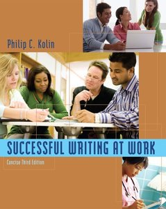 Successful Writing at Work Concise Edition (repost)