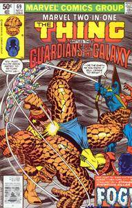 Marvel Two-In-One v1 069 Guardians of the Galaxy