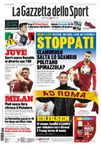 La Gazzetta dello Sport Roma – 16 gennaio 2020
