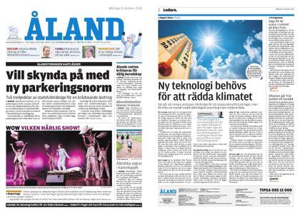 Ålandstidningen – 15 oktober 2018