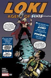AXIS series 1467 054 Loki-Agent of Asgard 009 2015 Digital Zone