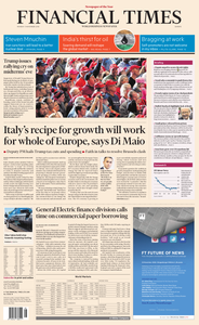 Financial Times Europe – 05 November 2018