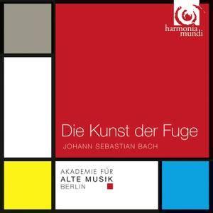 Akademie für alte Musik Berlin - Bach: Die Kunst der Fuge, BWV 1080 (2011) [TR24][OF]