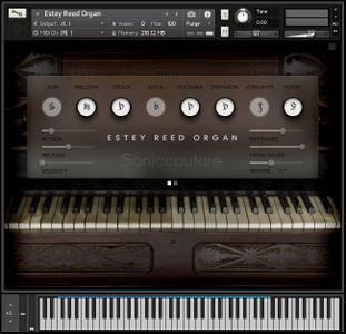Soniccouture Estey Reed Organ KONTAKT