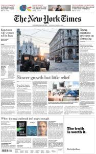 International New York Times - 25 March 2020
