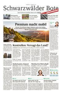 Schwarzwälder Bote St. Georgen, Triberg, Furtwangen - 06. August 2019