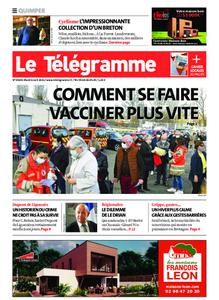 Le Télégramme Quimper – 06 avril 2021