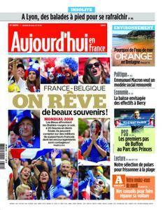 Aujourd'hui en France – 10 juillet 2018
