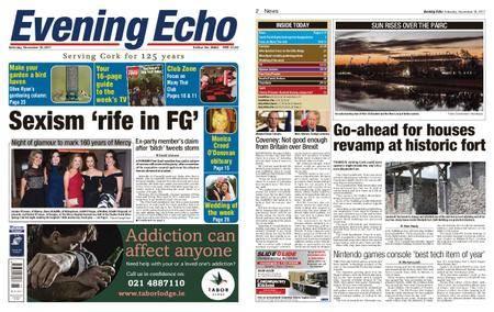 Evening Echo – November 18, 2017