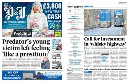 The Press and Journal Moray – January 18, 2020