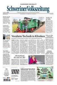 Schweriner Volkszeitung Hagenower Kreisblatt - 22. März 2018