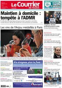 Le Courrier de l'Ouest Angers - 28 février 2018
