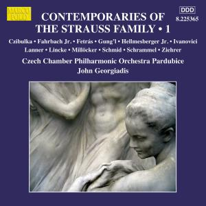 Czech Chamber Philharmonic Orchestra Pardubice - Contemporaries of the Strauss Family, Vol. 1 (2015)