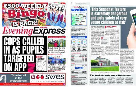 Evening Express – January 20, 2018