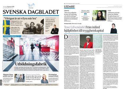 Svenska Dagbladet – 21 januari 2018