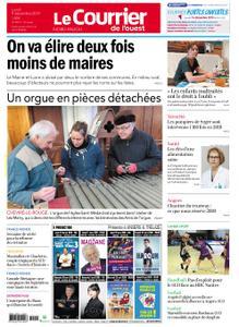 Le Courrier de l'Ouest Nord Anjou – 09 décembre 2019
