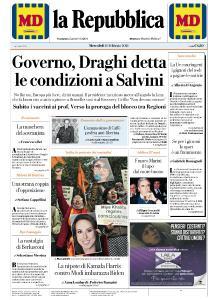 la Repubblica - 10 Febbraio 2021