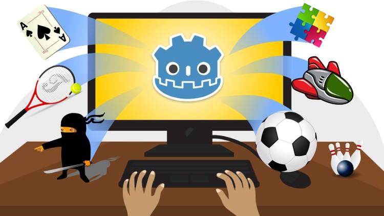 Crie jogos profissionais 100% de graça com a Godot 3.0