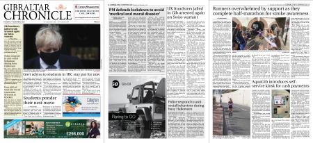Gibraltar Chronicle – 03 November 2020