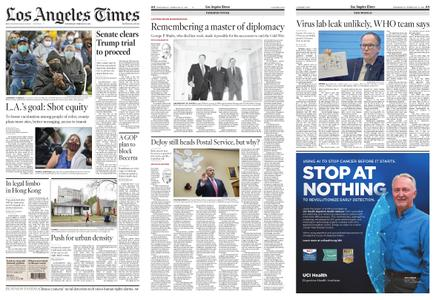 Los Angeles Times – February 10, 2021