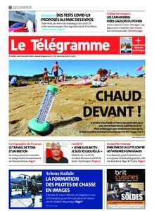 Le Télégramme Quimper – 30 juillet 2020