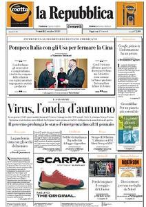 la Repubblica - 2 Ottobre 2020
