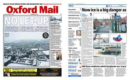 Oxford Mail – December 12, 2017