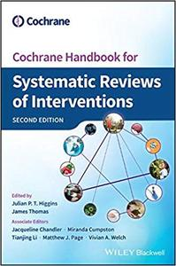Cochrane Handbook for Systematic Reviews of Interventions  Ed 2