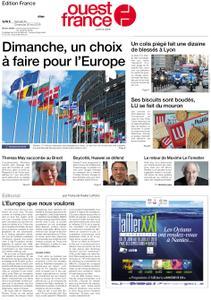 Ouest-France Édition France – 25 mai 2019