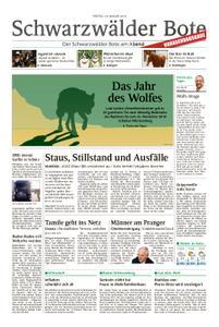 Schwarzwälder Bote Hechingen - 18. Januar 2019