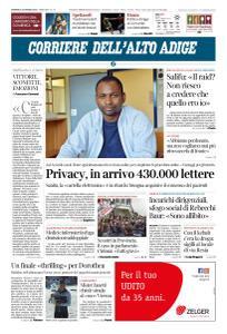 Corriere dell'Alto Adige - 24 Marzo 2019