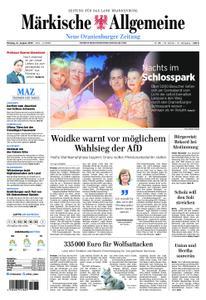 Neue Oranienburger Zeitung - 12. August 2019