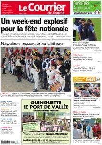 Le Courrier de l'Ouest Angers - 13 juillet 2018