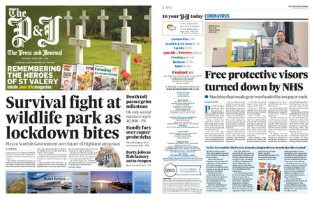 The Press and Journal Moray – June 06, 2020