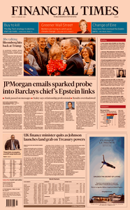 Financial Times Europe – 14 February 2020