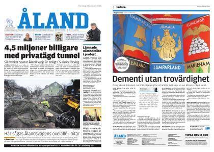 Ålandstidningen – 25 januari 2018