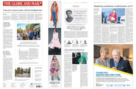 The Globe and Mail – September 24, 2019