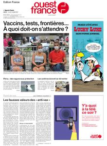 Ouest-France Édition France – 12 juillet 2021