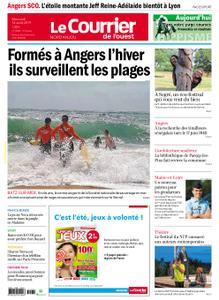 Le Courrier de l'Ouest Nord Anjou – 14 août 2019