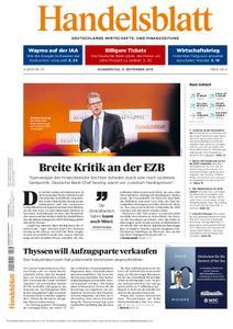 Handelsblatt - 05. September 2019
