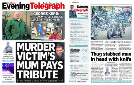 Evening Telegraph First Edition – May 07, 2019