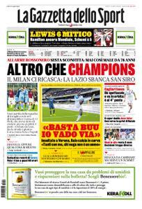 La Gazzetta dello Sport – 04 novembre 2019